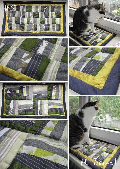 Patchwork-Katzendeckchen