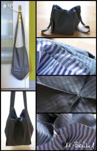 Tasche mit dreieckigem Boden