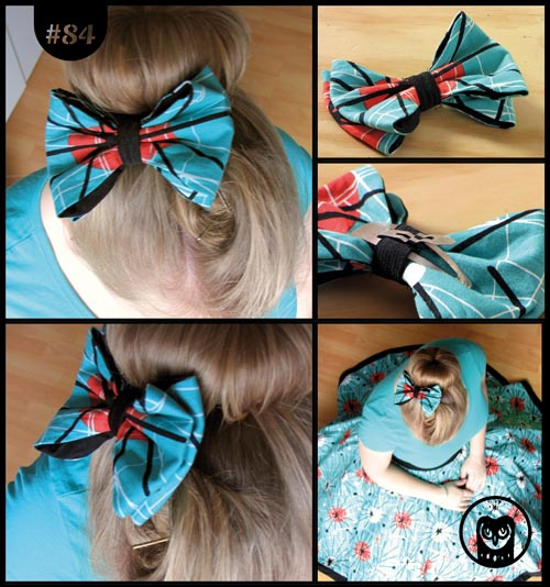 Stofffresser-Fascinator