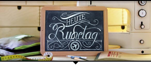 """Heute Ruhetag"""