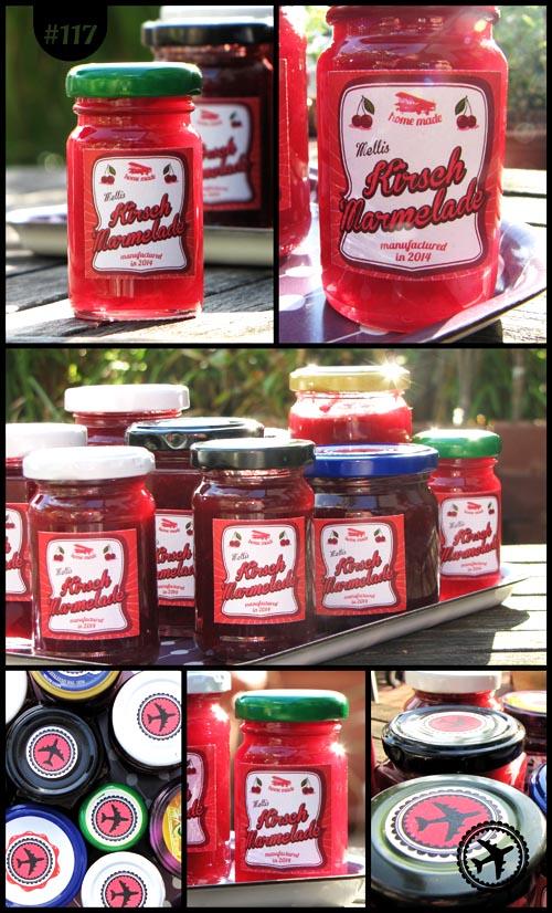 Kirschmarmelade & Etiketten
