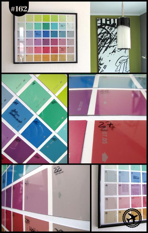 Farbflächen-Kalender