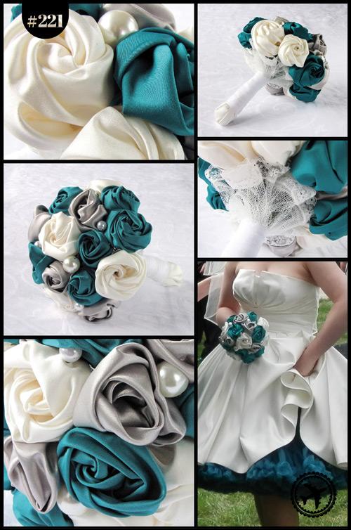 Brautstrauß aus Stoff