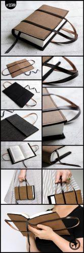 Handtaschen-Buchhülle